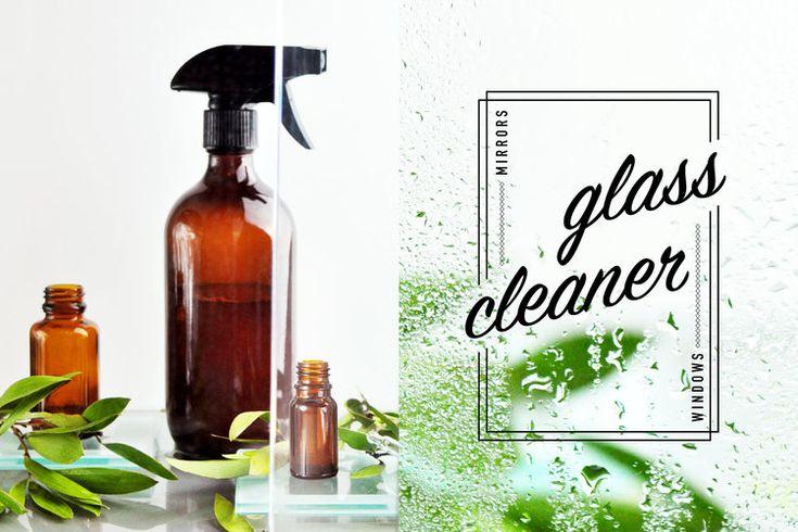 Eucalyptus glass cleaner. Recipe here :  http://www.elfait.com/blog/glasscleaner