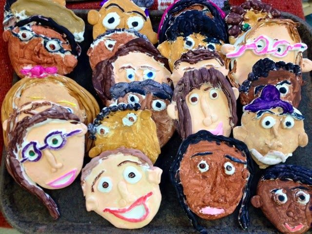 2nd Grade Crayola Model Magic Clay Self-Portraits Preview-Art with Mr. Giannetto Blog