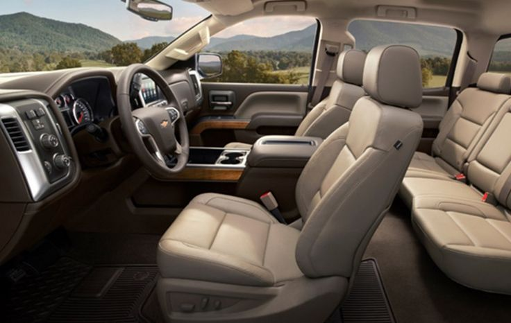 2018 Chevy Suburban interior,