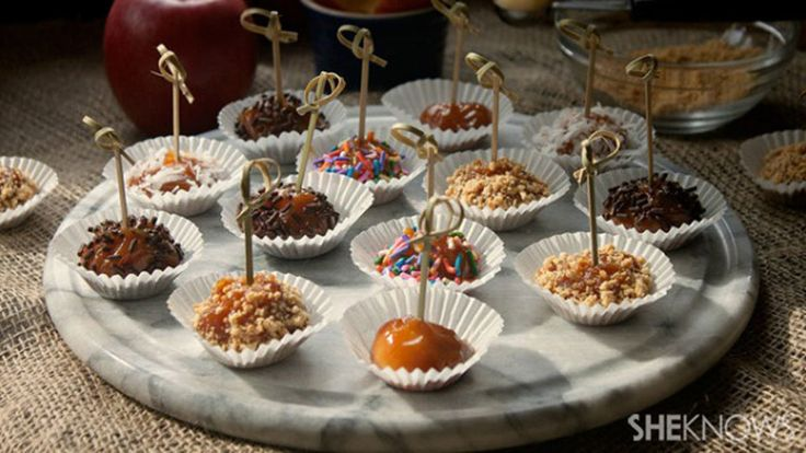 Mini caramel apple bites are as much fun to make as they are to eat