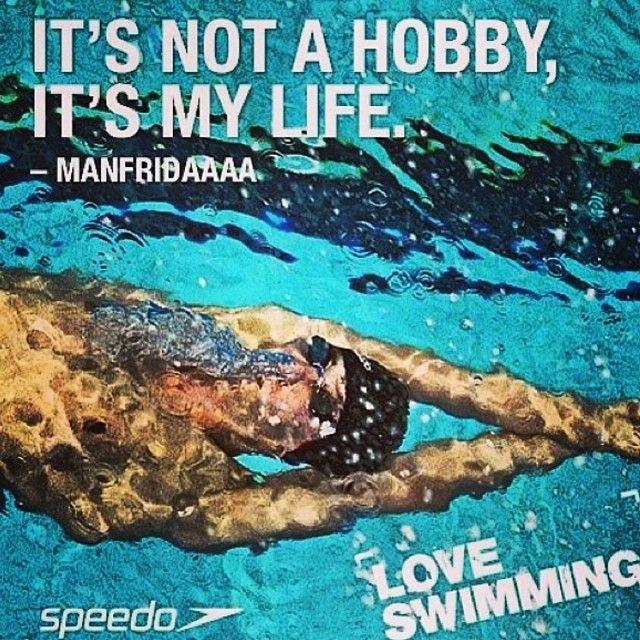 Swimming... so true <3