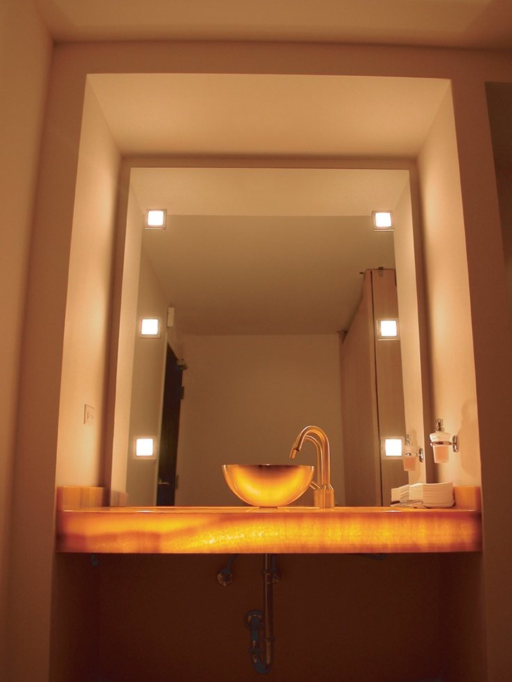 17 Best Images About Inspiration Bathroom Lighting