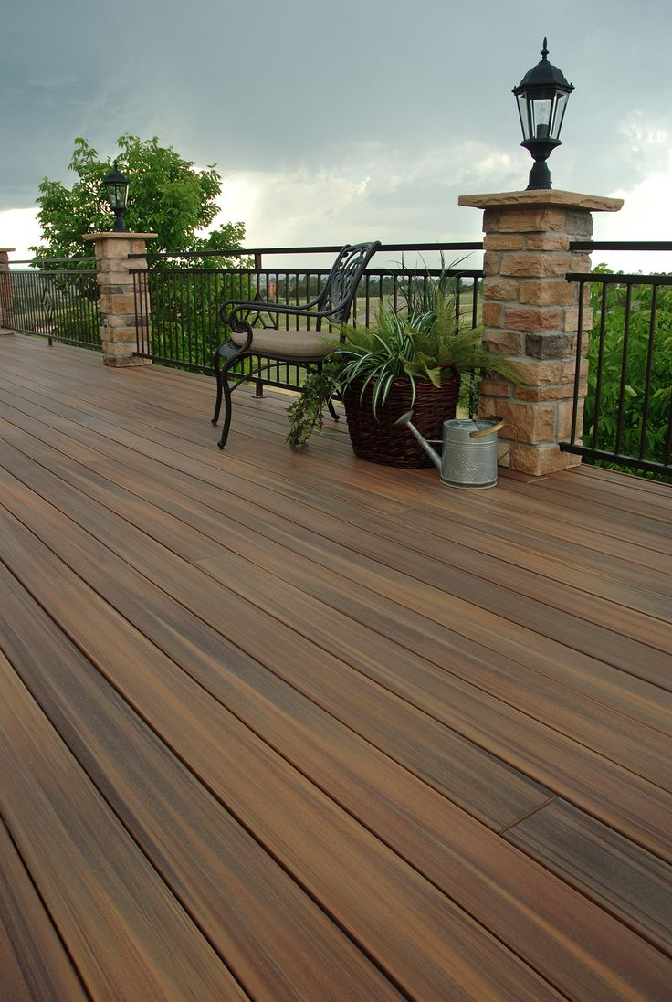 Fiberon decking products are certainly a favorite among homeowners with a handsome style, easy maintenance and great color choices too.