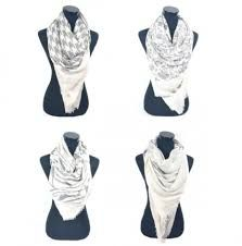 Afbeeldingsresultaat voor grote vierkante sjaal knopen