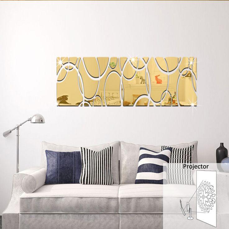 20 beste idee n over muur spiegels op pinterest - Muur decoratie volwassen kamer ...