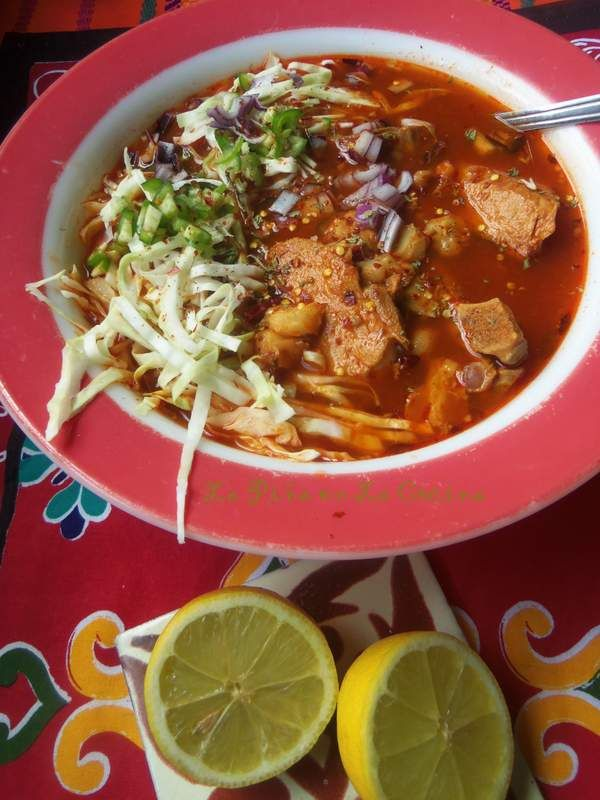 Pozole Rojo-Red Chile Pork Pozole