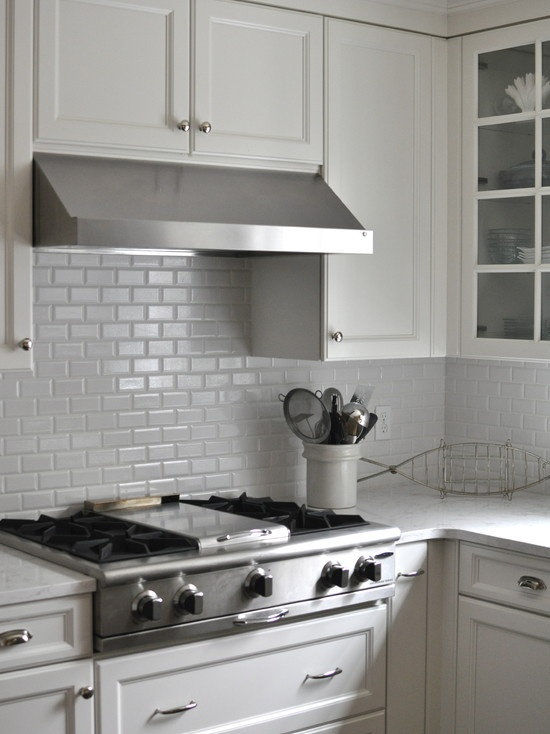Cambria Quartz Countertops Crackled Beveled Subway Tile