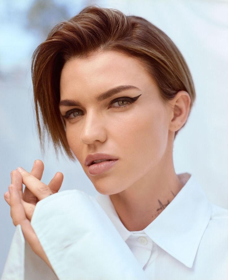 Ruby Rose Shares Her Definition of Beauty — and It'll Give You All the Feel in 2021 | Ruby rose hair, Ruby rose haircut, Ruby rose