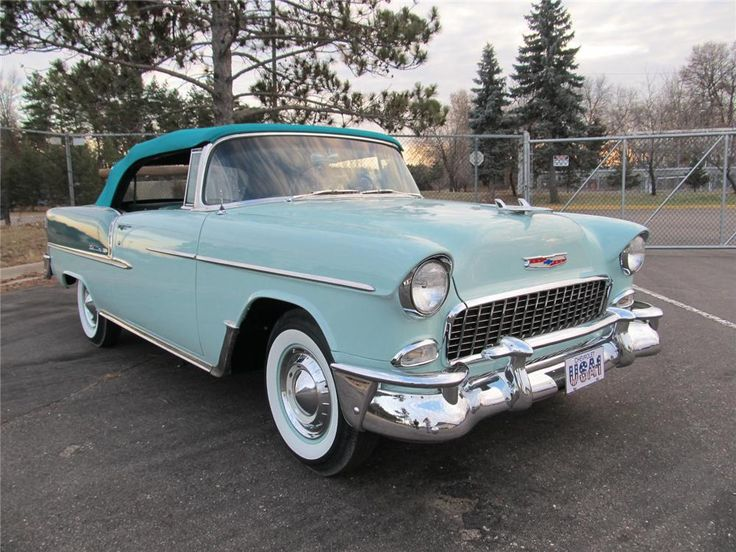 1955 CHEVROLET BEL AIR Lot 953 | Barrett-Jackson Auction Company