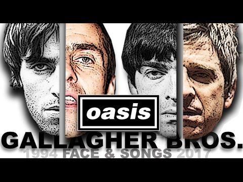 """Oasis Worldwide Fan Club: Liam & Noel """"look chronology"""" XD"""
