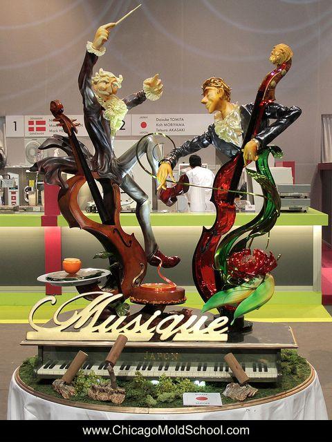 Team Japan's incredible showpiece - Coupe du Monde de la Patisserie 2013 - The Chicago School of Mold Making