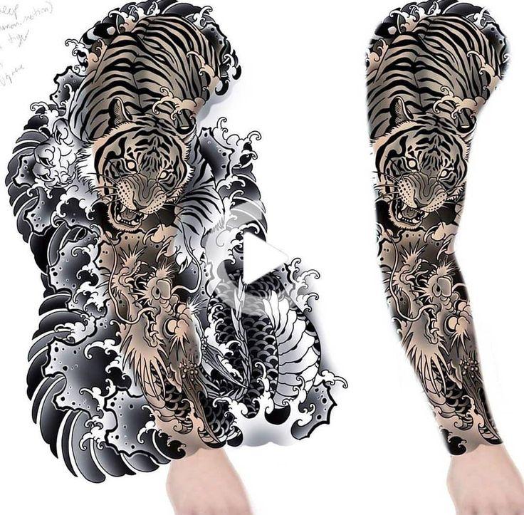 Pin De Pitbull Tattoopiercing Em Ger Tatuagem Japonesas De Dragao Tatuagens Irezumi Tatuagem Tiger Tattoo Sleeve Japanese Tattoo Designs Tattoo Sleeve Designs