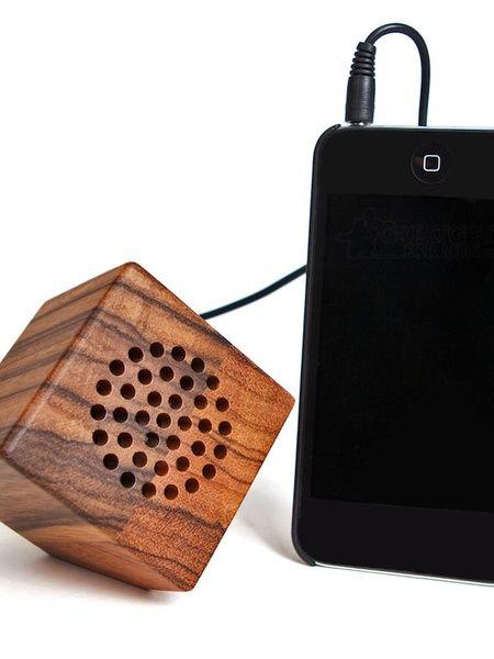 100% Wood & Bamboo Portable Speaker