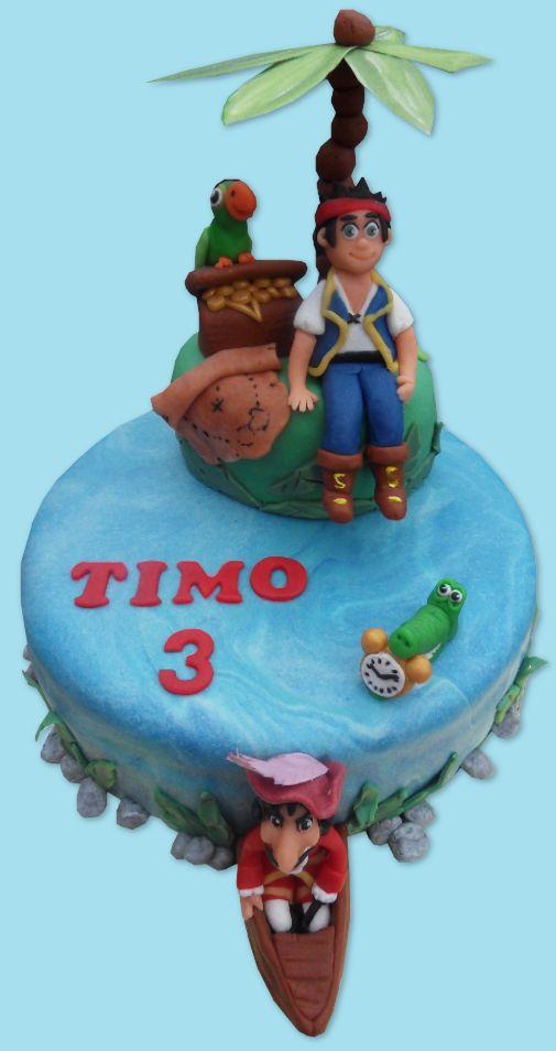 Jack and the Neverland Pirates cake
