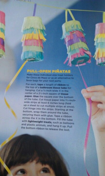 """""""My very own Pinata"""" ... pint sized pinatas that can be used in lieu of party favor bags and make great party decor in the meantime :)"""