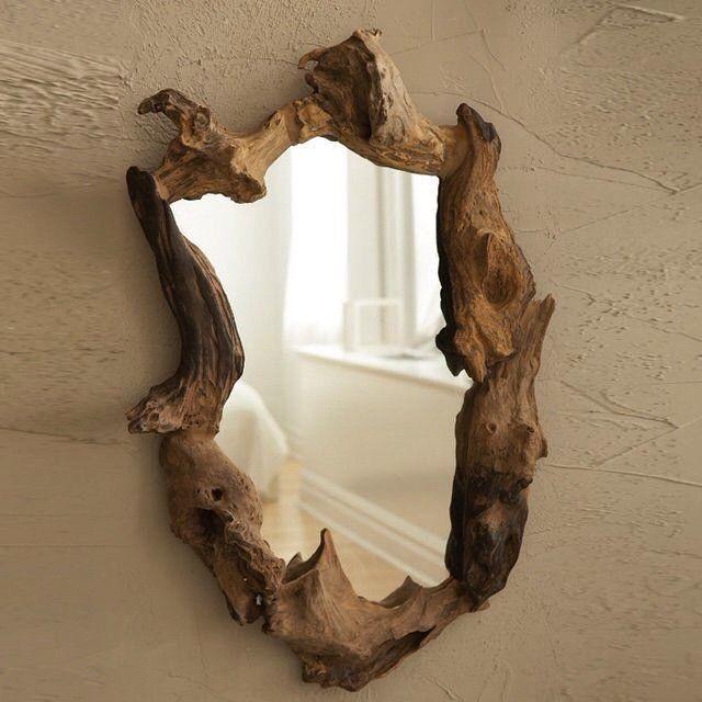 """Wooden Root Mirror #furniture #furnituredesign #furnitureporn #homedecor #decor #decoration #architecture #architect #accessories #design #home #interior…"""
