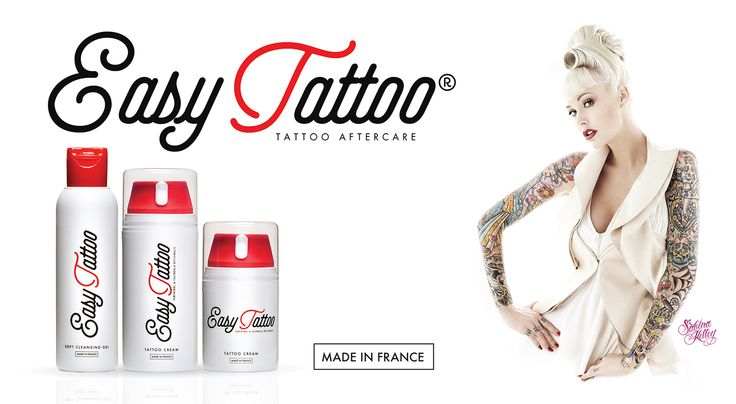 The New look of Easytattoo® Tattoo Aftercare products presented by gorgeous Sabina Kelly - special guest on the 11th International London Tattoo Convention (25-27 Sept 2015).  Many Thanks Easytattoo.co.uk