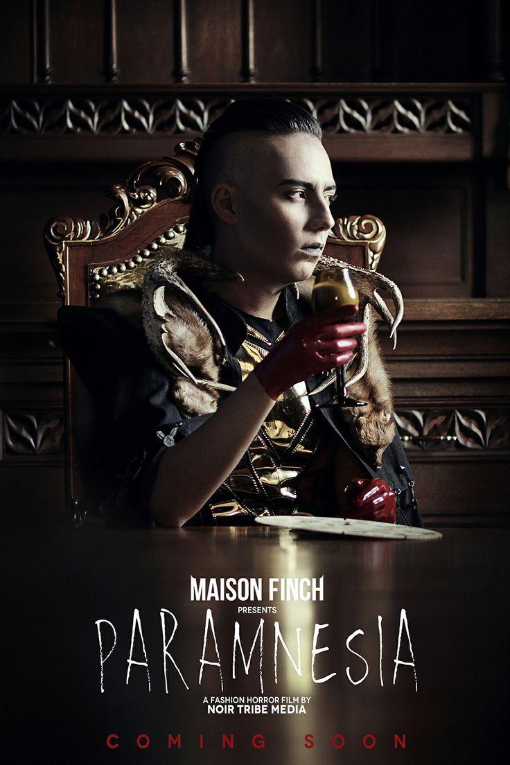 MAISON FINCH / Noir Tribe Media  PH: Ace Amir Model: Julian Pinzón   #MaisonFinch #MF #MaisonFinchArchive