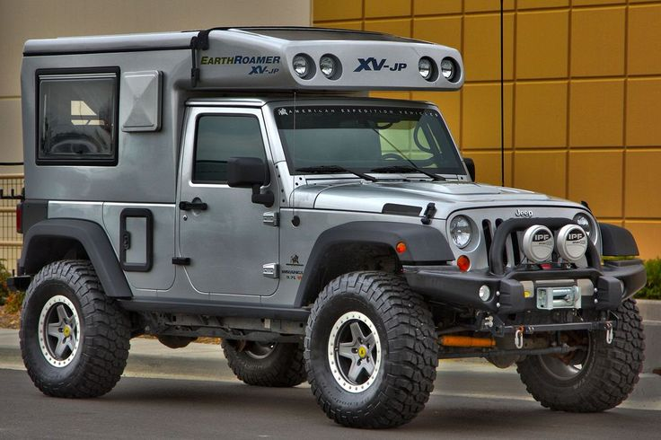 Lambo Power  Ultimate camper/ expedition vehicle?: Earthroamer