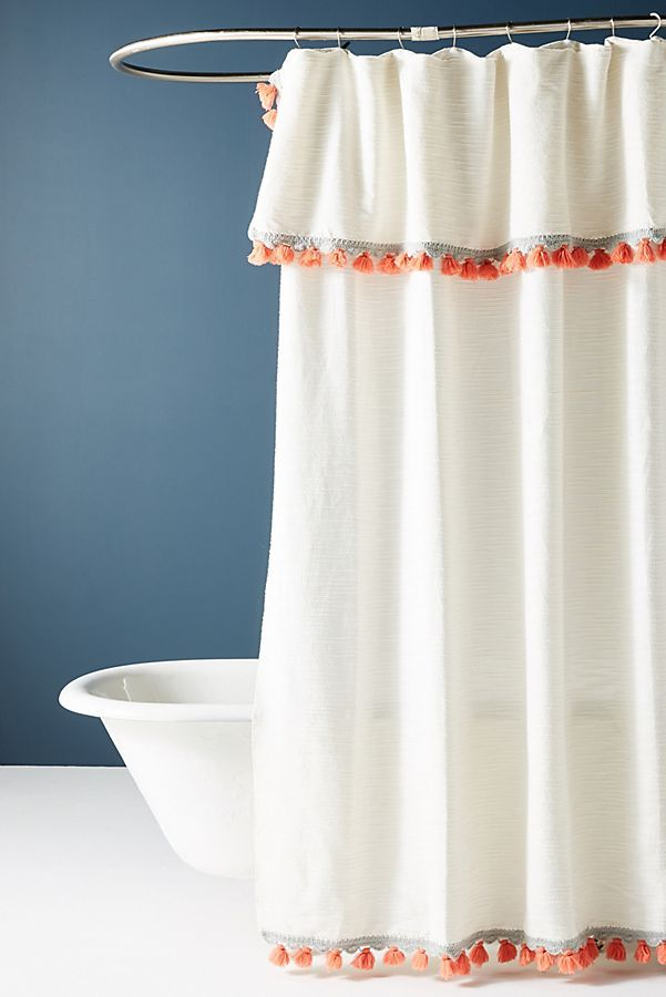 Chic And Affordable Shower Curtains For An Easy Bathroom Upgrade