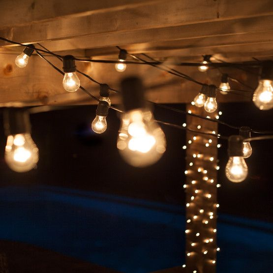 Outdoor String Lights Around Pool: 1000+ Images About Pool/patio On Pinterest