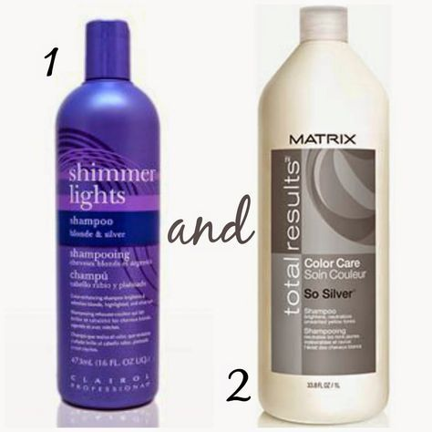 These products are THE BEST to get any brassy orange color out of your blonde hair.