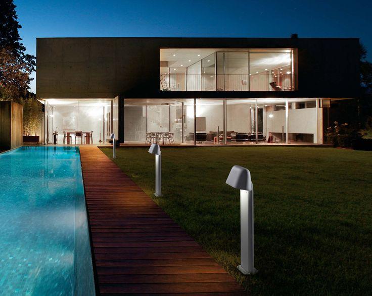 Modern beacon for outdoor lighting
