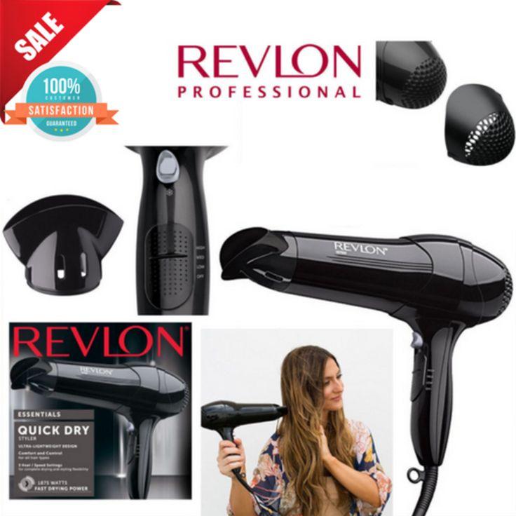 Professional Blow Hair Blower Ionic Ceramic Styler Turbo Quick Dryer Heat 1875W #Revlon
