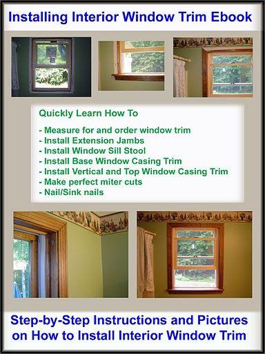 Best 25 Interior Window Trim Ideas On Pinterest How To