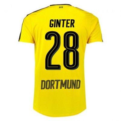 BVB Borussia Dortmund 16-17 Matthias Ginter 28 Hjemmebanetrøje Kortærmet.  http://www.fodboldsports.com/bvb-borusland-dortmund-16-17-matthias-ginter-28-hjemmebanetroje-kortermet.  #fodboldtrøjer