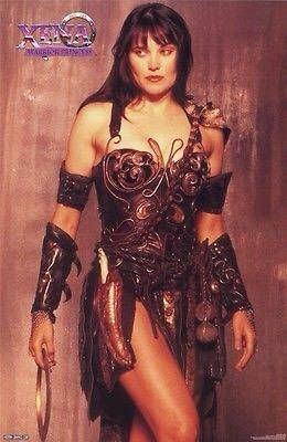 1996 Xena: Warrior Princess poster, Lucy Lawless as Xena