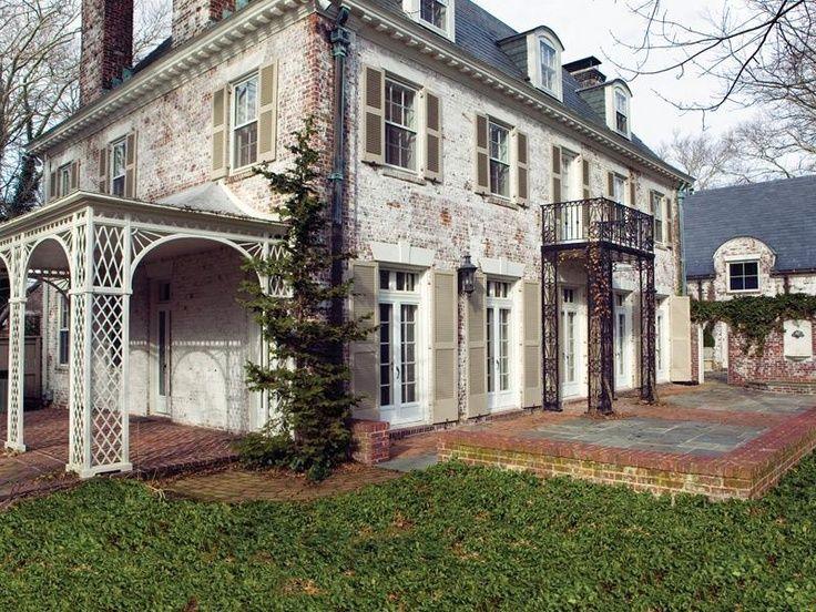 Best 25 Whitewash Brick House Ideas On Pinterest Shutters Brick House Whitewashed Brick And
