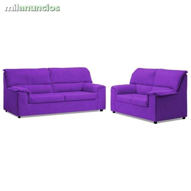 . sofa 3+2 economico... gran exposicion con variedad de modelos al coste en todos los estilos, tambien disponemos de colchones. somieres, canapes, sofas, sillones, muebles y jardin. Estamos en pol ind. de Lorqui avd. Principal n�7 (junto autovia) Bricomur,