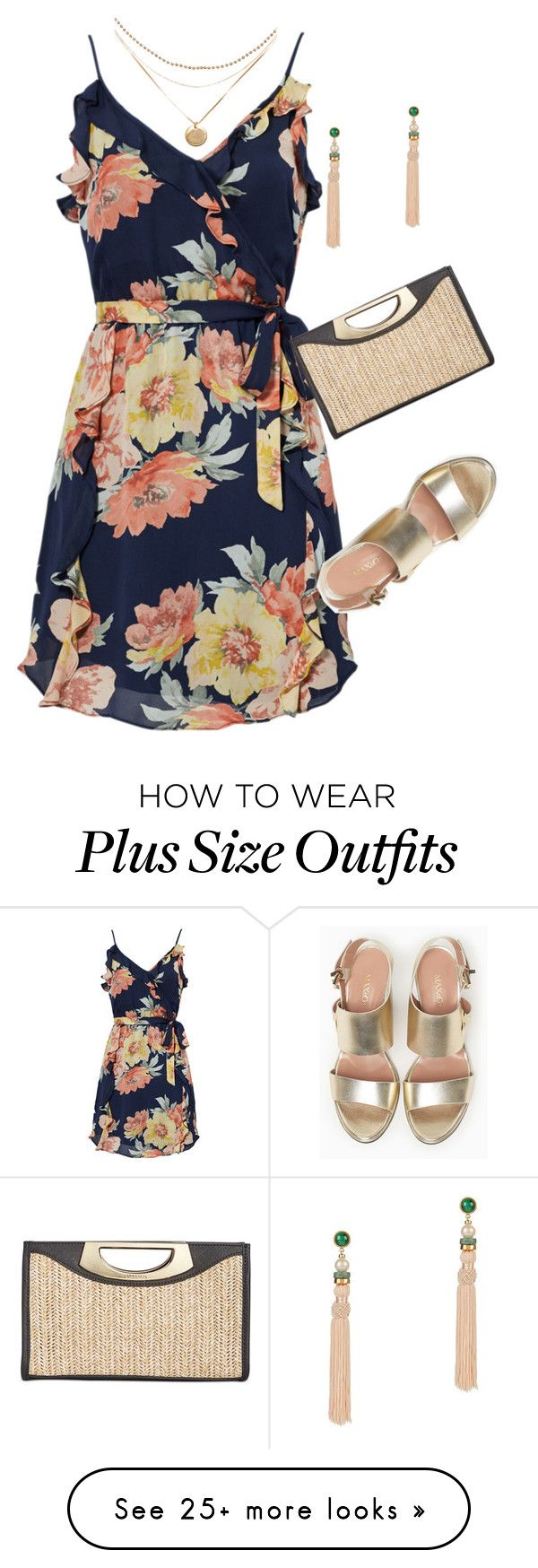 """Plus size beach resort wedding date"" by xtrak on Polyvore featuring Joie, Calvin Klein, Max&Co. and Lizzie Fortunato"