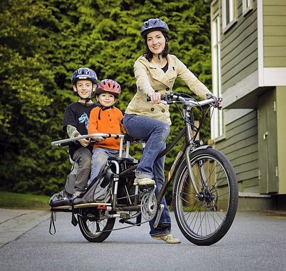 Cargo Bike - loose the car (or one of them) and ride a cargo bike #slowliving #simpleliving