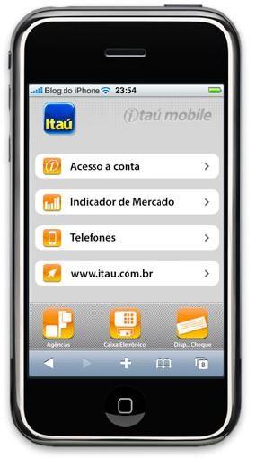 Itaú celular: acessar conta via mobile