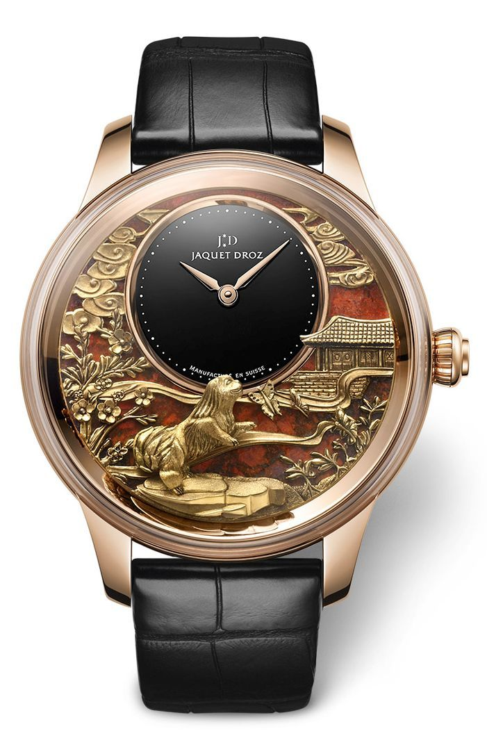 TimeZone : Industry News » N E W M o d e l s - Jaquet Droz Chinese New Year of the Dog