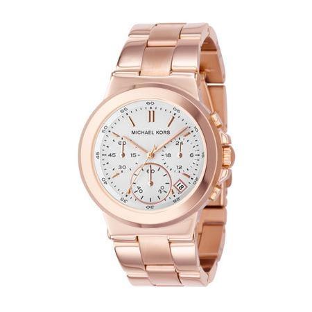 Michael Kors Rose Golden Chronograph Watch