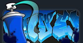 Graffiti Creator - type in your word, customize color, shape, design