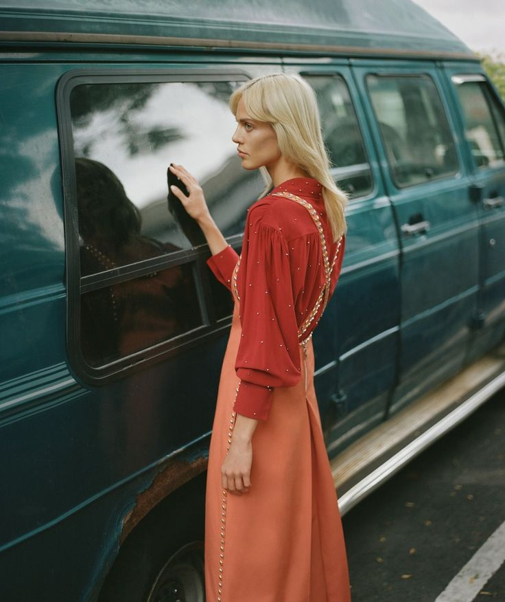 los setenta son ahora: aymeline valade by thomas whiteside for harper's bazaar spain november 2015 | visual optimism; fashion editorials, shows, campaigns & more!