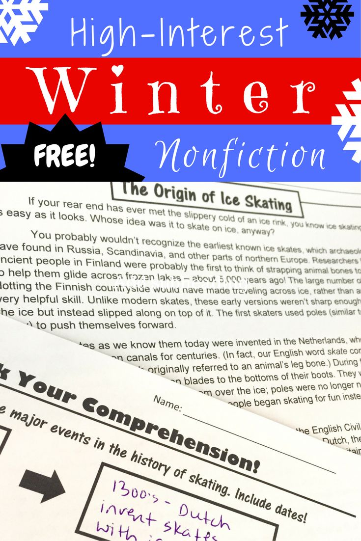 Worksheet Reading Nonfiction 1000 images about reading nonfiction on pinterest anchor charts free winter heres a activity perfect for middle school practice