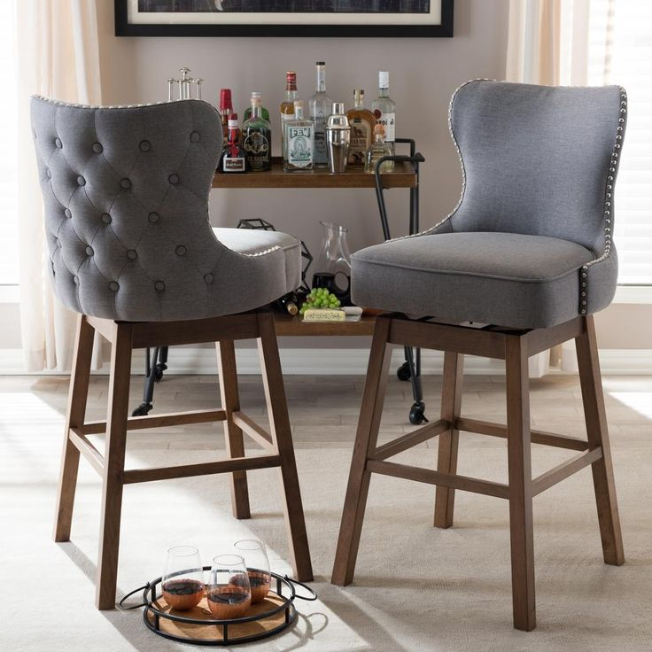 Baxton Studio Gradisca Beige Fabric Upholstered 2-Piece Bar Stool Set. Family KitchenGray FabricSwivel ... & Best 25+ Swivel bar stools ideas on Pinterest | Swivel counter ... islam-shia.org