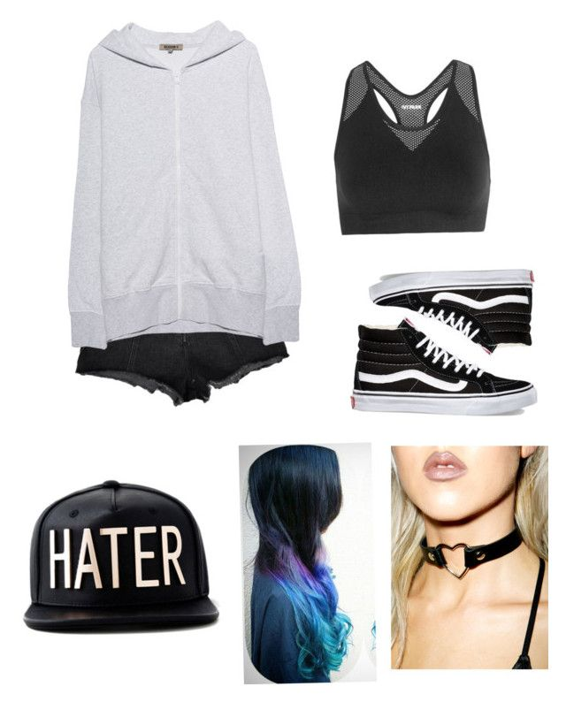 """Young & Dumb"" by rand0mgirl1230 on Polyvore featuring Ivy Park, Yeezy by Kanye West, Vans and Funk Plus"