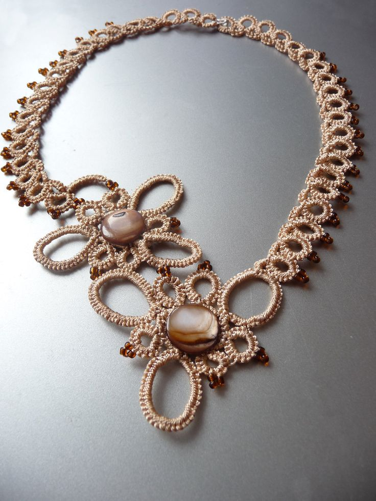 Coffee necklace.