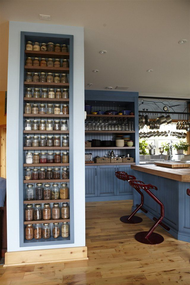Chef Michael Smith's spice library - amazing!