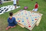 Giant Scrabble - Giant Jenga and other giant yard games
