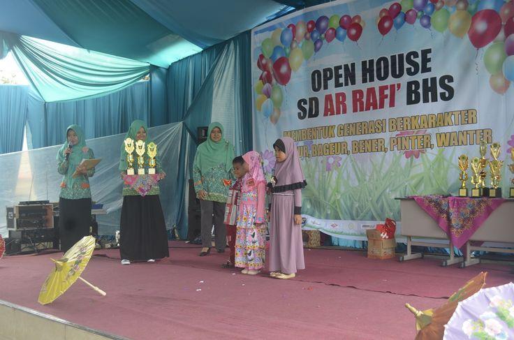Open House SD Ar Rafi' BHS