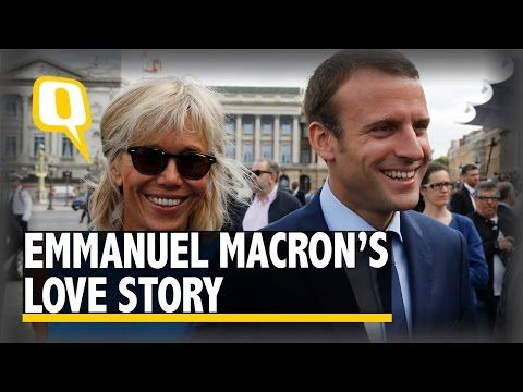 Daily News : The Quint: Emmanuel Macron and His Wife Brigitte's...