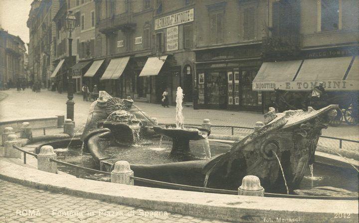 Piazza di Spagna (Menasci, 1910)