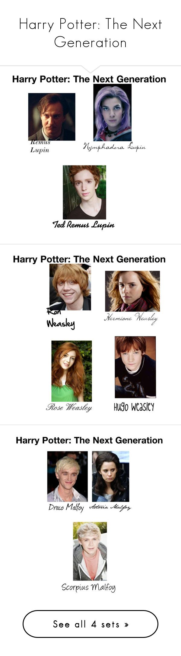 """Harry Potter: The Next Generation"" by december-lullaby ❤ liked on Polyvore featuring art"